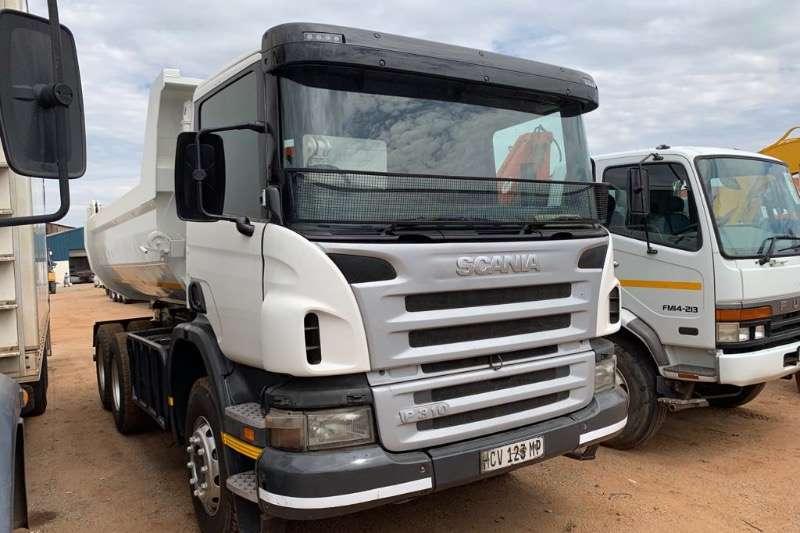 Scania Truck Tipper P310 10 CUBE 2012