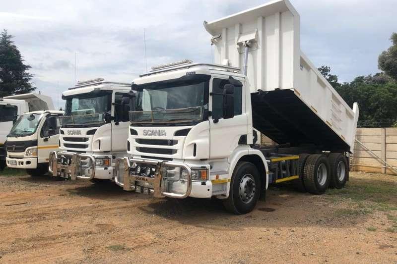 Scania Truck Tipper P310 2018