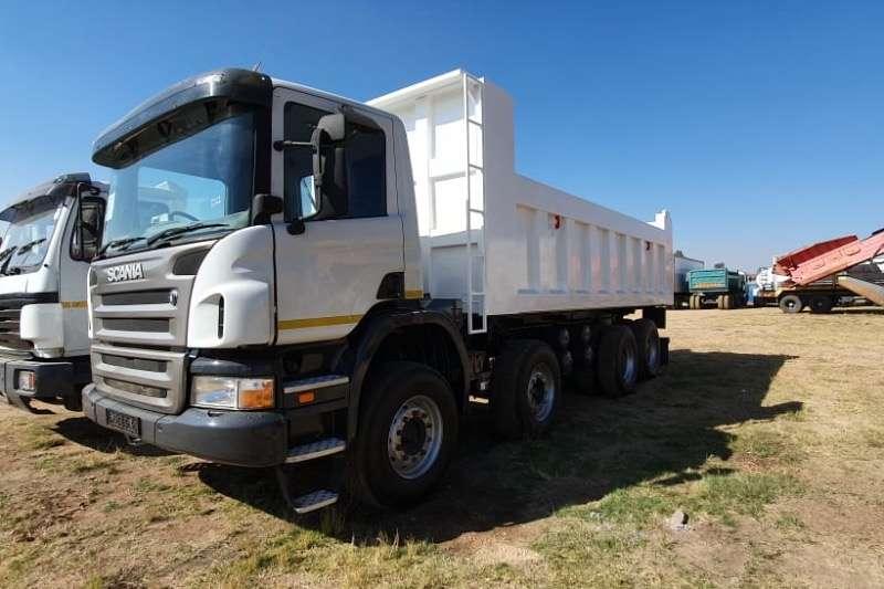 Scania Truck Tipper P380 2009