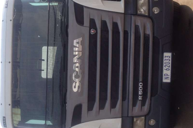 Scania Truck Tipper R500 18 cube tipper, twinsteer 2010