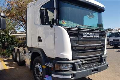 Scania Double axle 2014 Scania G460 Truck Tractor Truck-Tractor