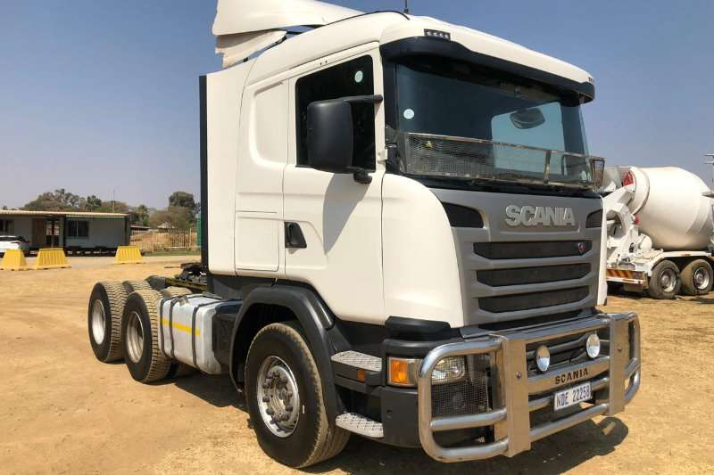 Scania Truck-Tractor Double axle 2015 SCANIA G460 6x4 Truck Tractor 2015
