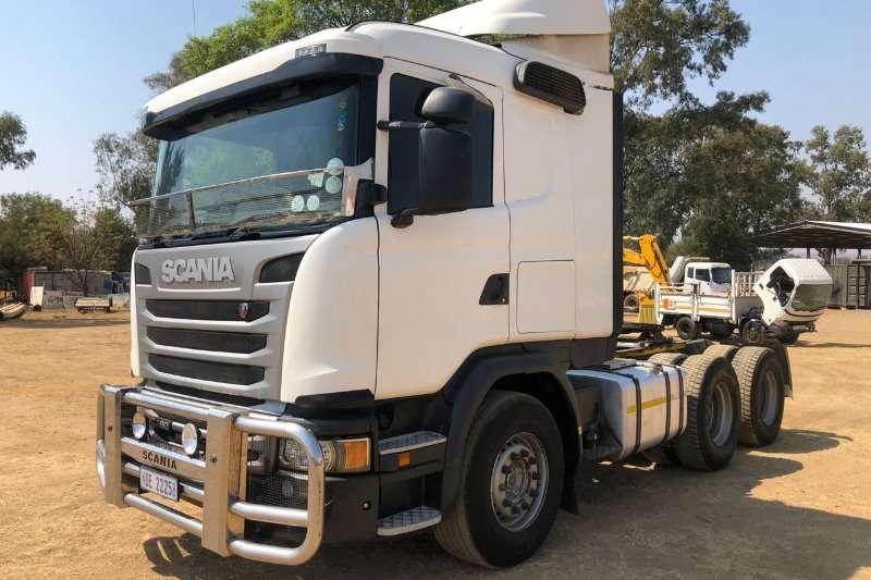 Scania Truck-Tractor Double axle 2015 SCANIA G460 6x4 TT,FSH, No Hydraulics 2015
