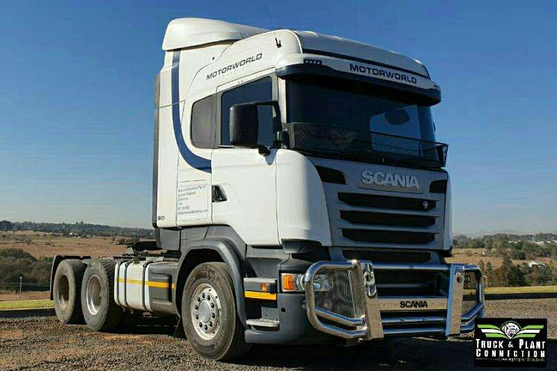 Scania Truck-Tractor Double Axle 2015 Scania R460 High-Rise Cab 2015