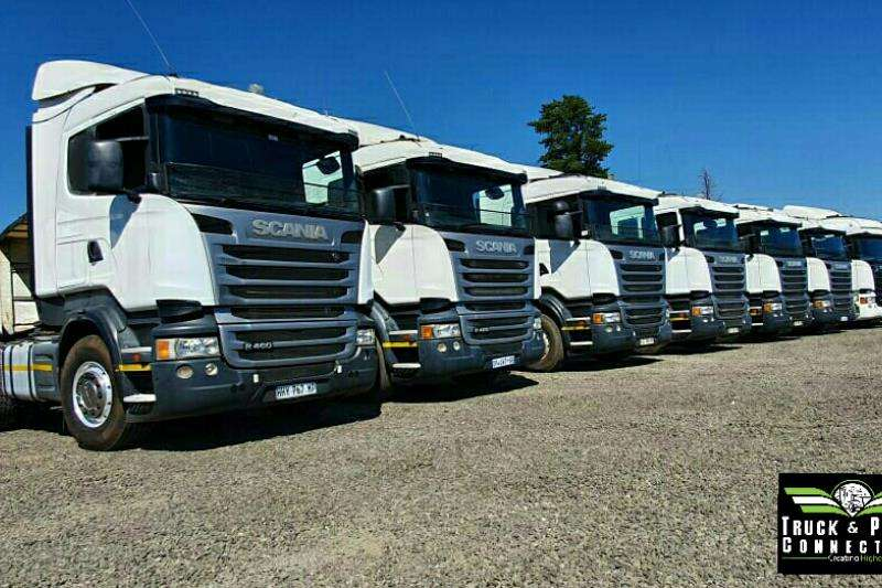 Scania Truck-Tractor Double axle 3 x Scania's Available