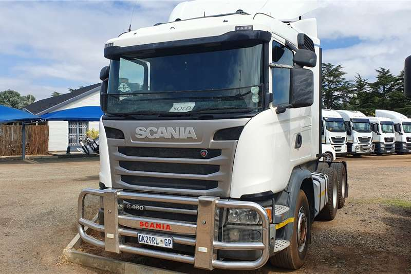 Scania Truck-Tractor Double axle G460 2014