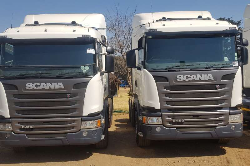 Scania Truck-Tractor Double Axle G460 2016