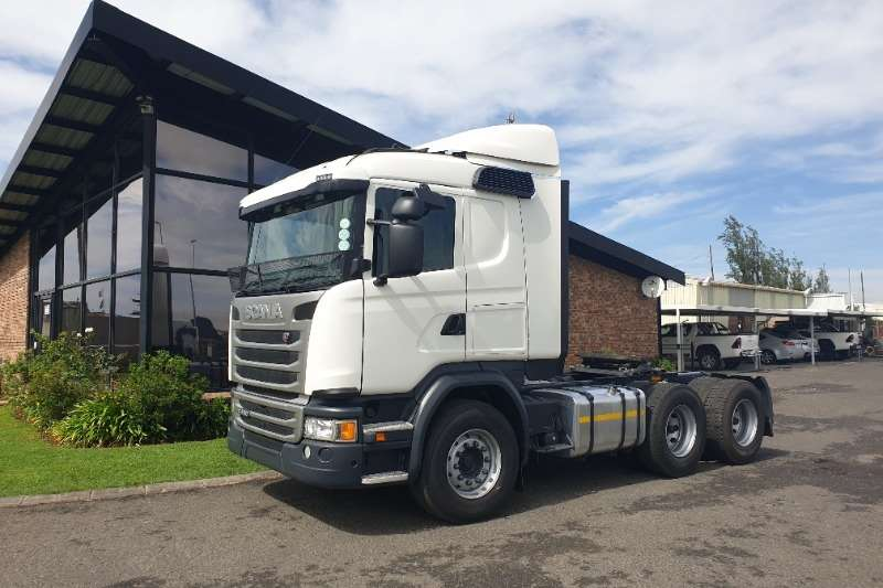 Scania Truck-Tractor Double axle G460 2018