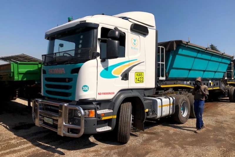 Scania Truck-Tractor Double axle G460 6x4 T/T 2016
