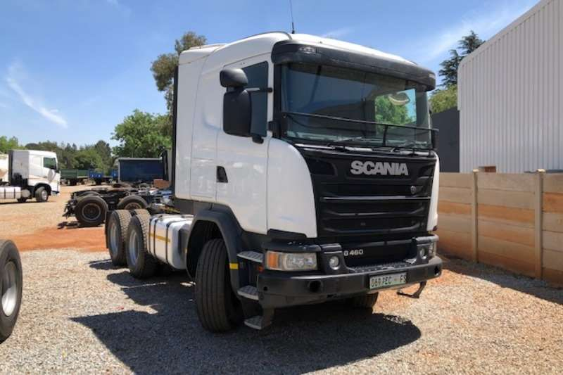 Scania Truck-Tractor Double axle G460 6x4 T/T 2017
