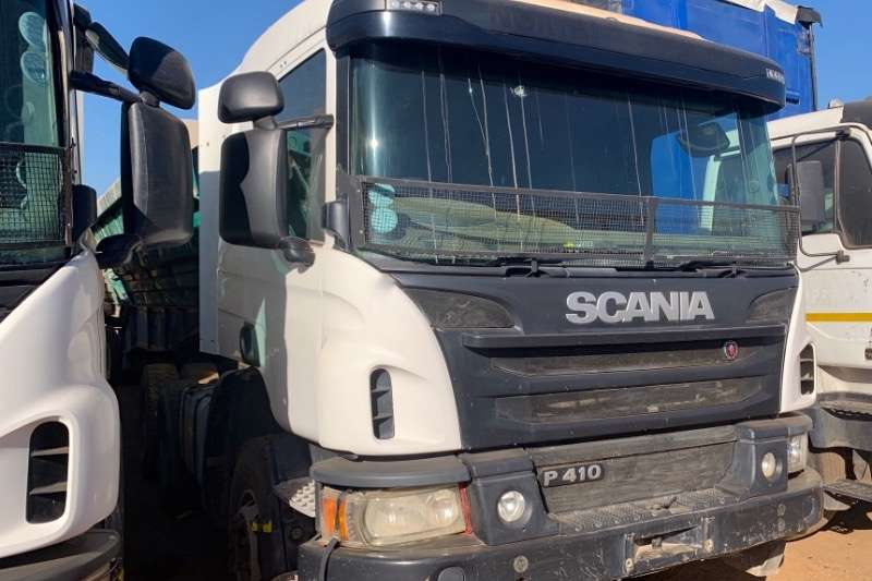 Scania Truck-Tractor Double axle P410 2016