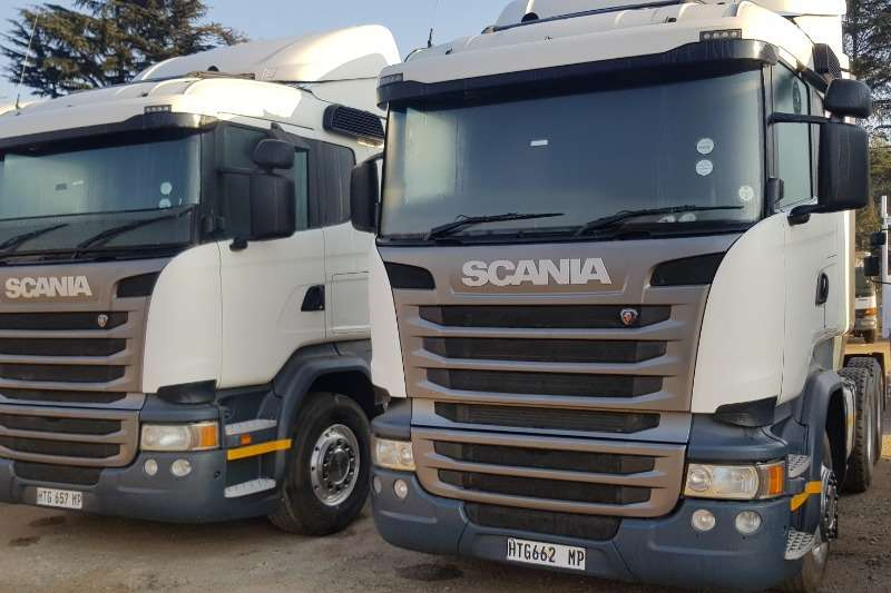 Scania Double axle R410 Truck-Tractor