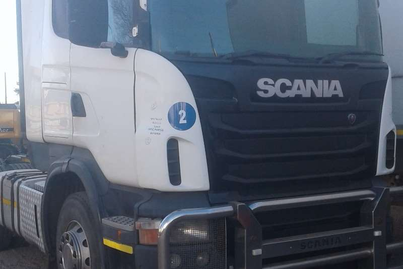 Scania Truck-Tractor Double axle R420 CA 6x4 ESZ 2011