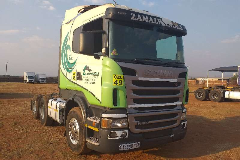 Scania Truck-Tractor Double axle R460 2013