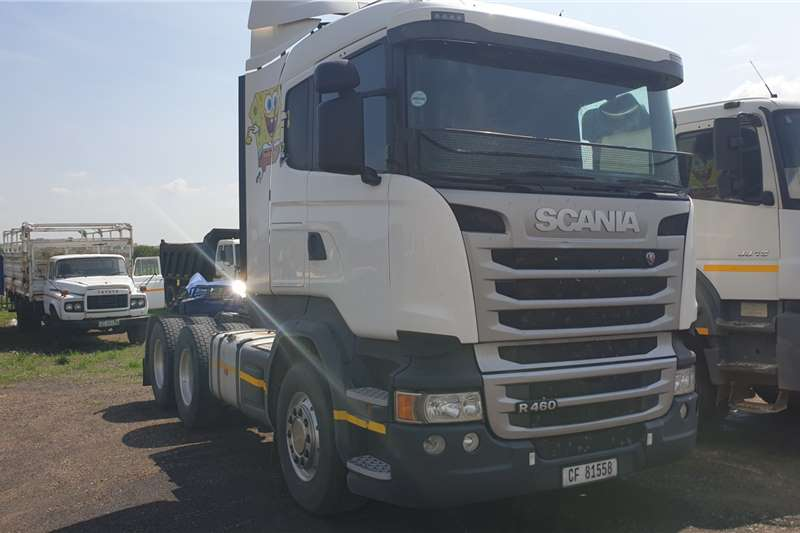Scania Truck-Tractor Double axle R460 2014