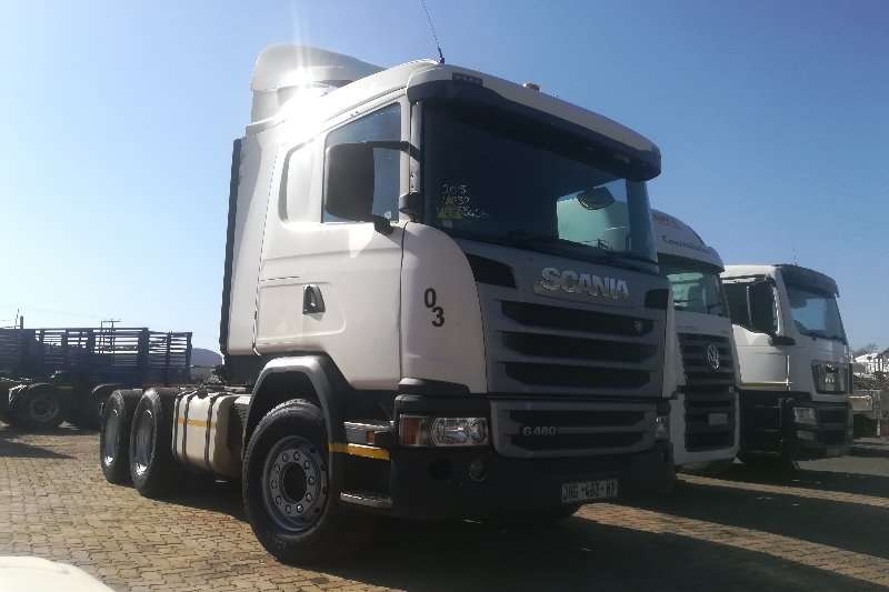 Scania Truck-Tractor Double axle R460 2015