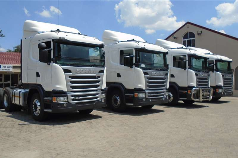 Scania Truck-Tractor Double Axle Scania G460 2016