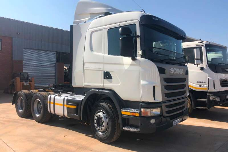 Scania Truck-Tractor Double axle SCANIA G460 6X4 T/T 2012