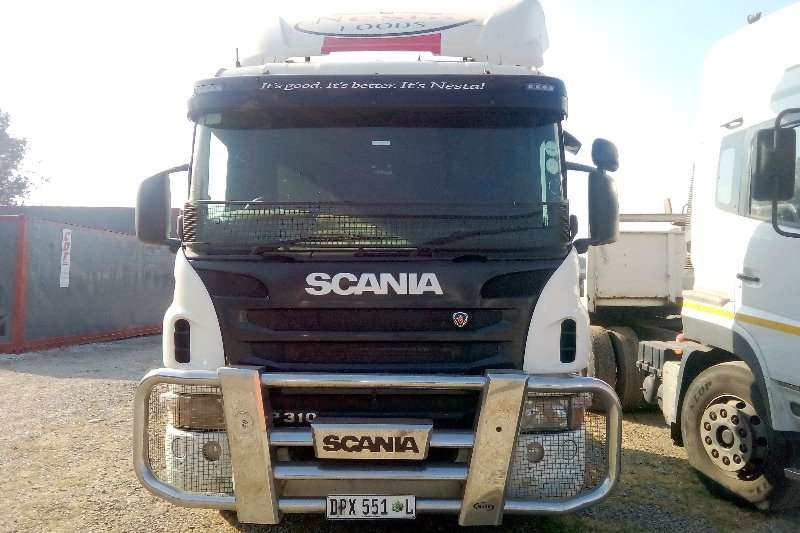 Scania Double axle Scania P310 Chassis Cab Truck-Tractor