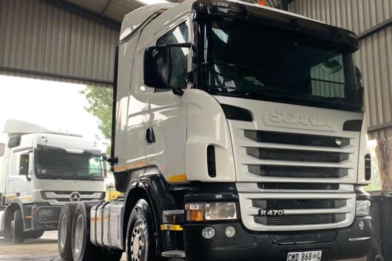 Scania Truck-Tractor Double axle Scania R 470 TT 6X4 2012
