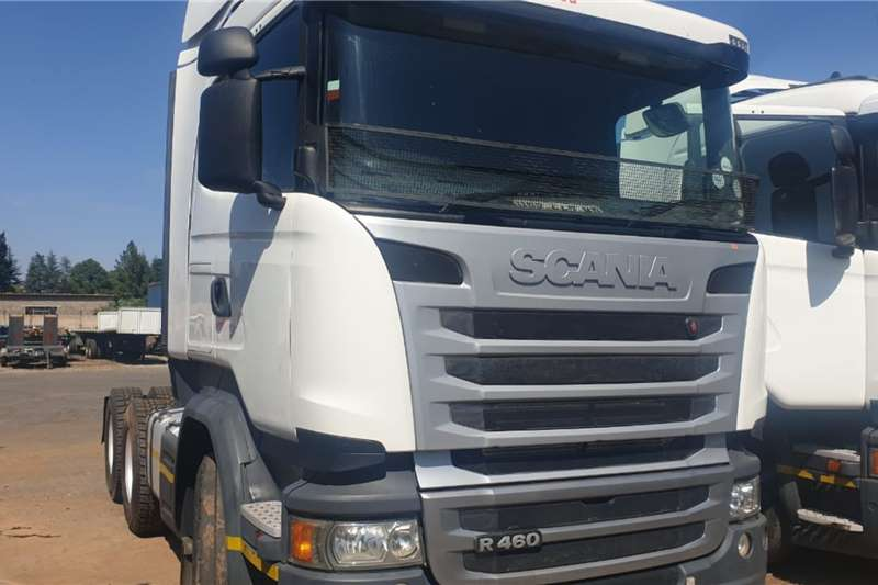 Scania Truck-Tractor Double axle SCANIA R460 2015