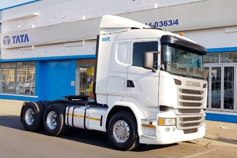 Scania Truck-Tractor Double axle Scania R460 2016