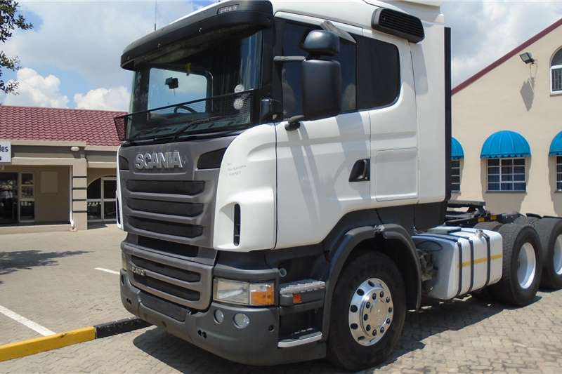 Scania Double axle Scania R470 Truck-Tractor