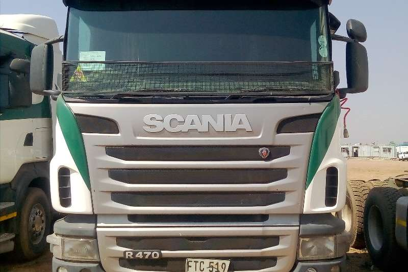 Scania Truck-Tractor Double axle SCANIA R470 2013 2013