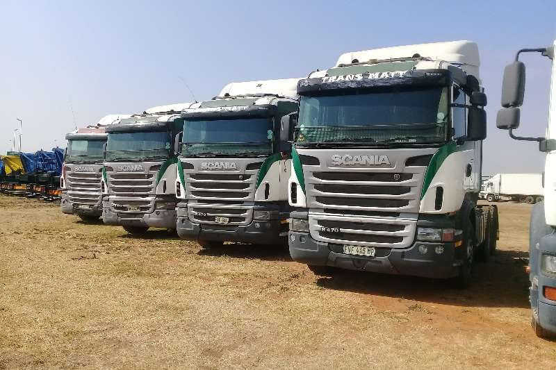 Scania Truck-Tractor Double axle SCANIA R470 HORSEPOWER YEAR MODEL 2012 2012