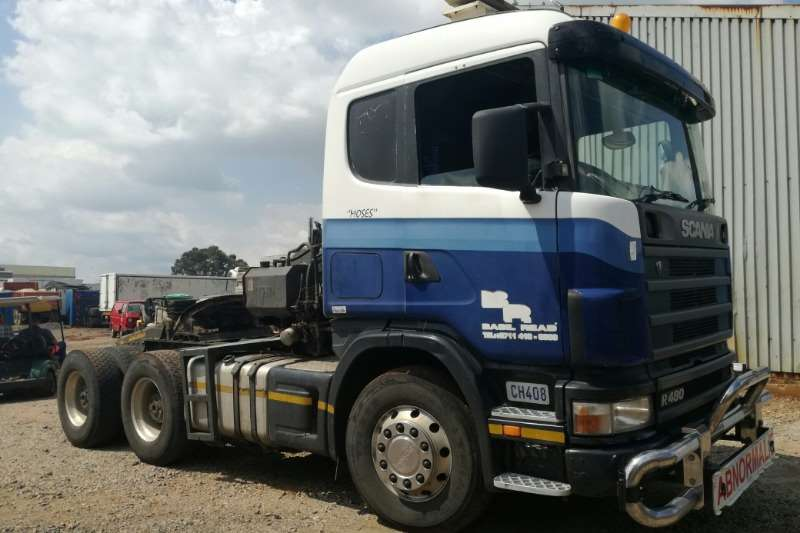Scania Truck-Tractor Double axle Scania R480 Truck Tractor 6x4 2007