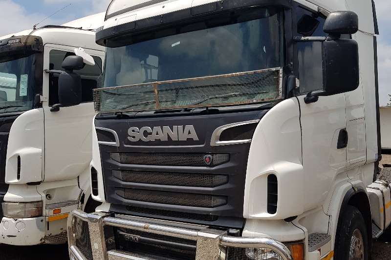 Scania Truck-Tractor Double axle Scania R500 as is special 2013