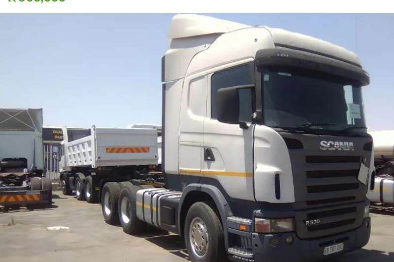 Scania Truck-Tractor Double axle USED 2010 R500 SCANIA FOR SALE 2010