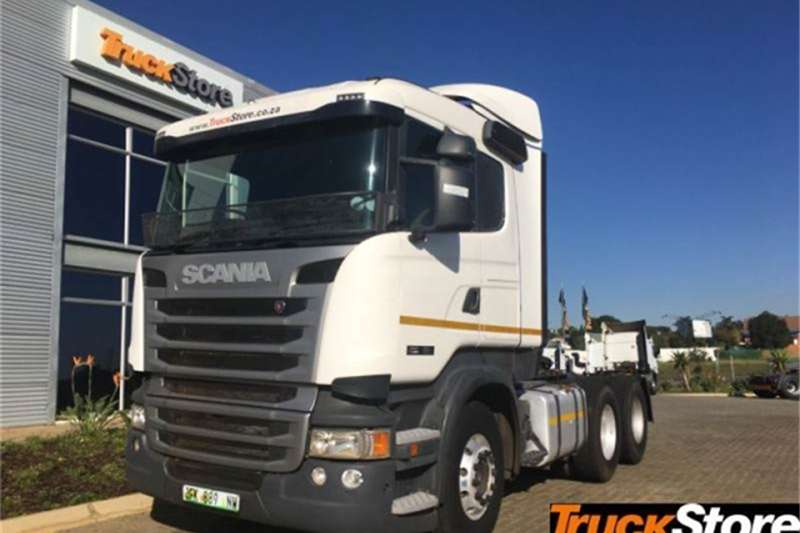 Scania Truck-Tractor G460 2014