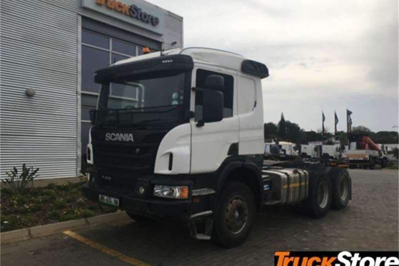 Scania Truck-Tractor P410 2016