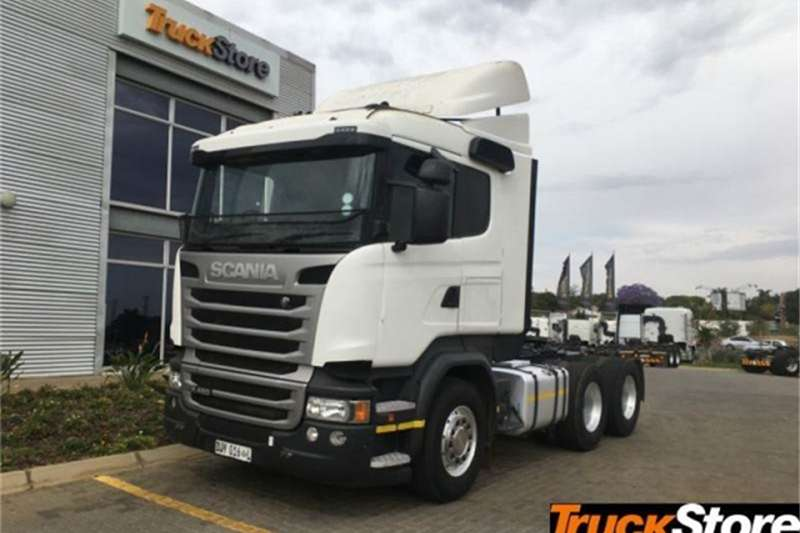 Scania Truck-Tractor R460 2015