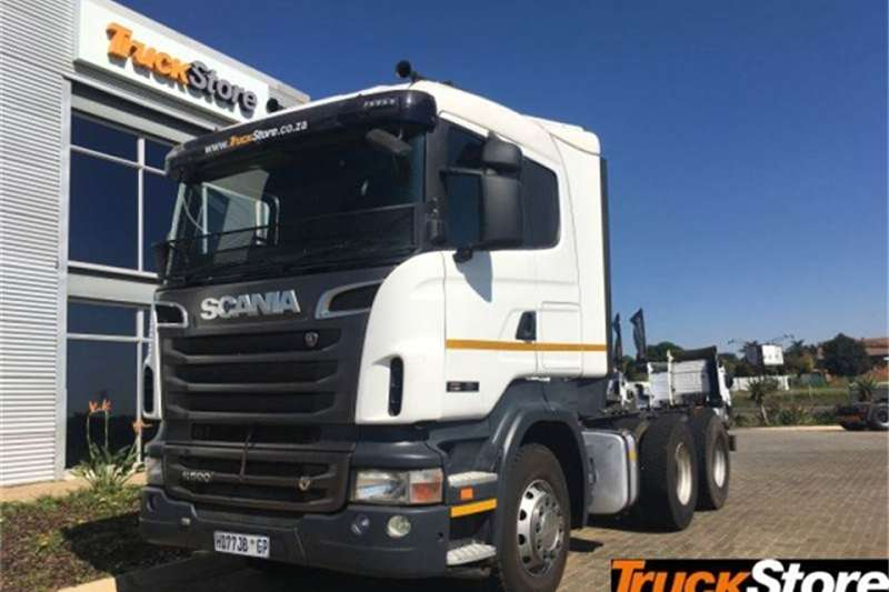 Scania Truck-Tractor R500 LA MSZ 2011