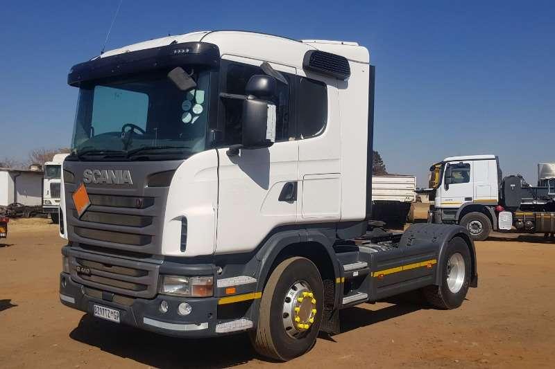 Scania Truck-Tractor Single axle G410 2012