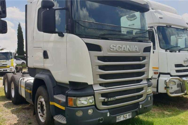 Scania Truck tractors 2015 SCANIA R460 2015