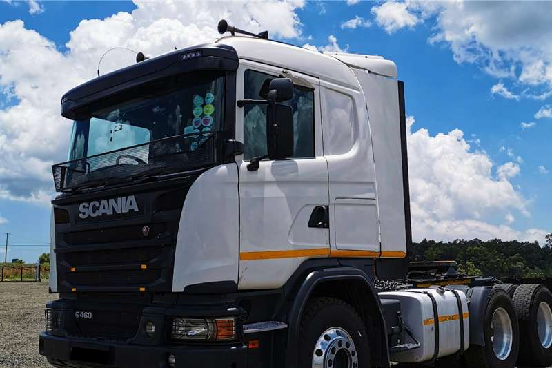 Scania Double axle 2014 Scania G460 Truck tractors