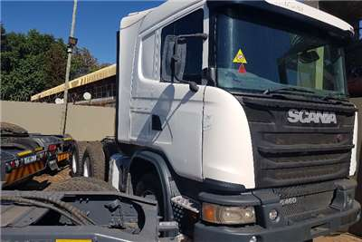 Scania Double axle 2014 Scania G460 Truck Tractor Truck tractors
