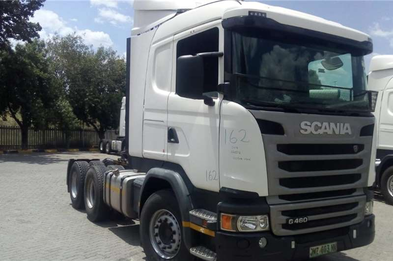 Scania Double axle 2016 Scania G460 Truck tractors