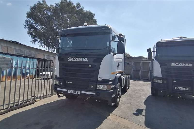 Scania Double axle 2017 Scania G460 Truck tractors