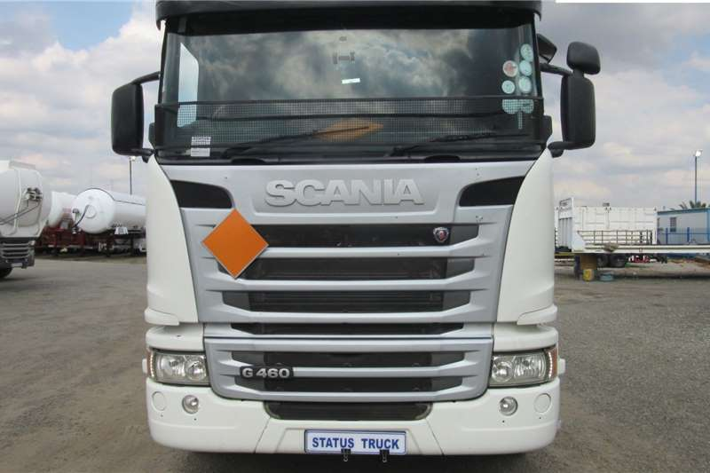 Scania Truck tractors Double axle G460 2014