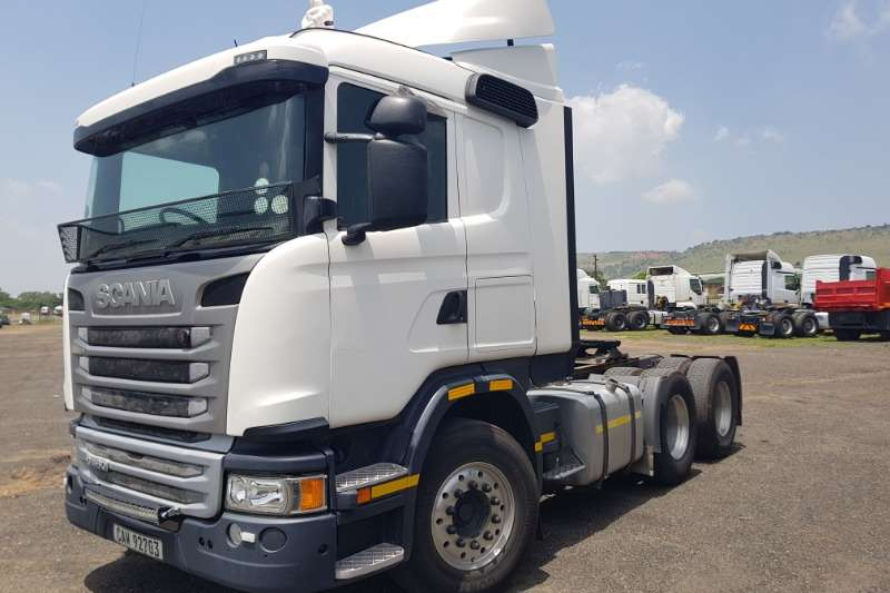 Scania Truck tractors Double axle G460 2015