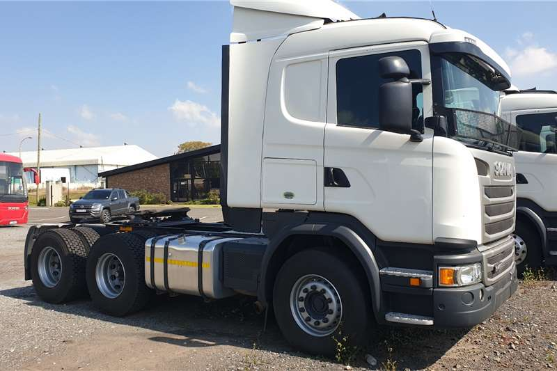 Scania Truck tractors Double axle G460 2016