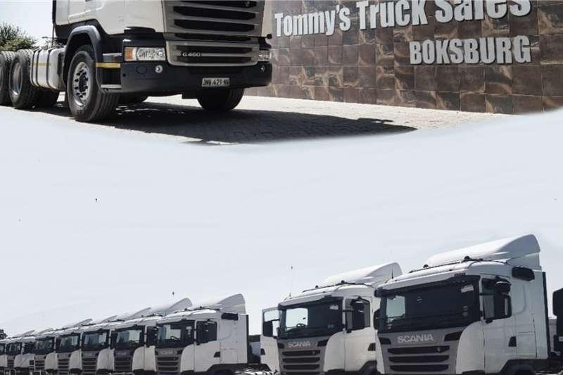 Scania Truck Tractors Double Axle G460 2016