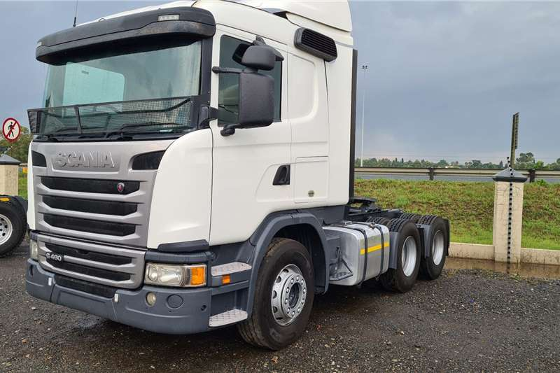 Scania Double axle G460 Air Suspension Truck tractors
