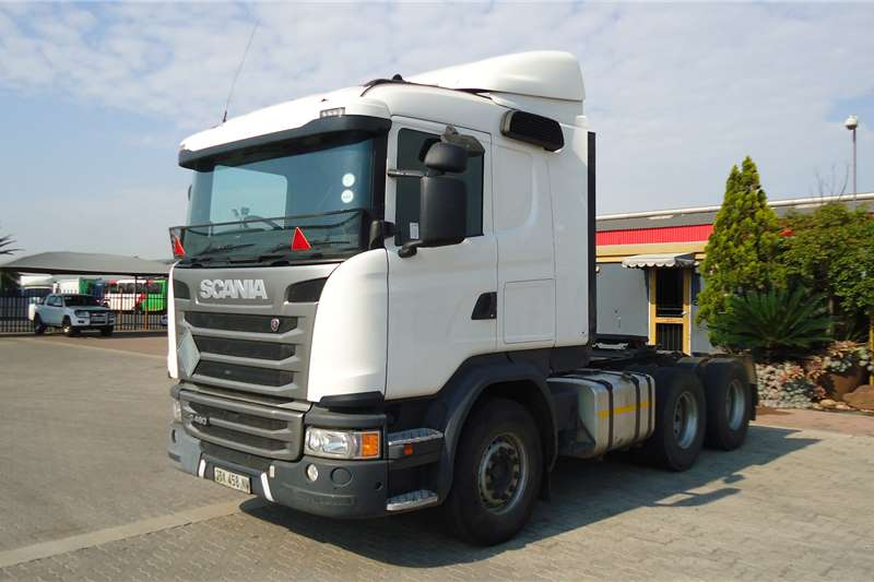 Scania Truck tractors Double axle G460 SCANIA JTX458NW 2017