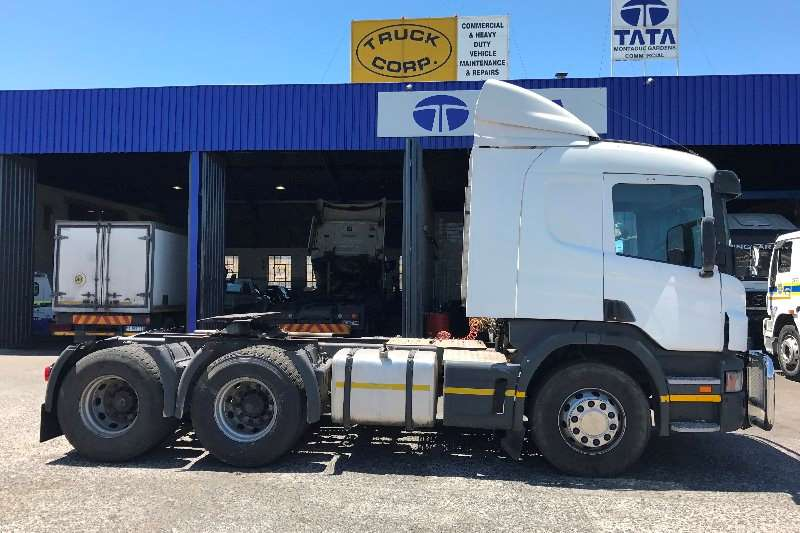 Scania Truck tractors Double axle P380 2011