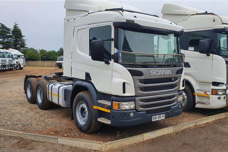 Scania Truck tractors Double axle P410 2016
